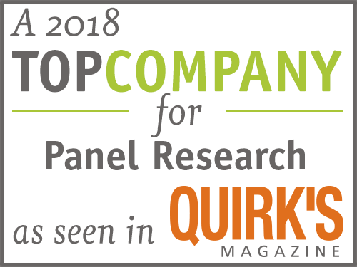 Quirk's Magazine Top Panel Research Company